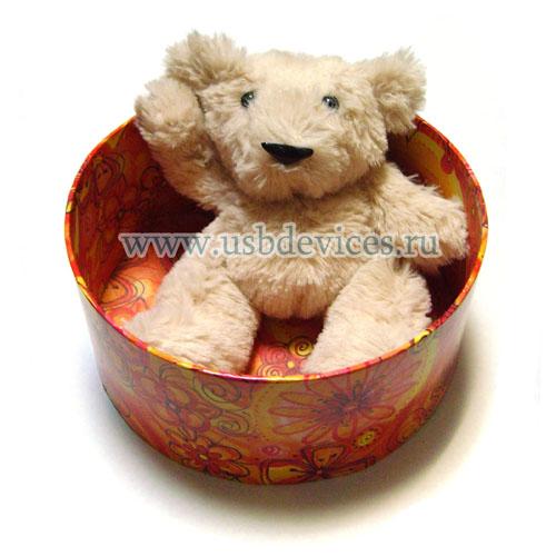 Плюшевый медвежонок-флэшка